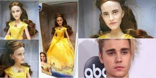 emma watson looks like why does this doll of emma watson look like justin bieber z90 3