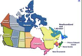 states canada map map canada states major tourist attractions maps