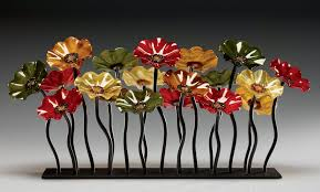 breckenridge glass flower garden by scott johnson and shawn