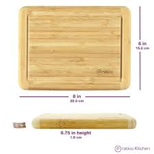Cutting Board With Trays bamboo cutting board with juice groove small