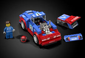 peugeot lego lego ideas renault 5 maxi turbo wrc speed champions