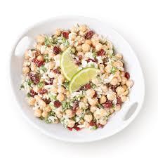 cuisiner les pois chiches salade de pois chiches avec riz recettes cuisine et nutrition