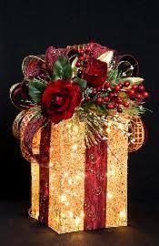 lighted christmas present boxes lighted christmas present box search decor
