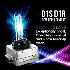 set 2 d1c d1r d1s 6000k ice blue hid xenon headlight oem
