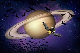 Bat For Halloween Cassini The Grand Finale Happy Halloween