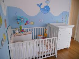 Baby Nursery Wall Decal by Stunning Baby Nursery Room Design With Awesome Aquarium Wall Decal