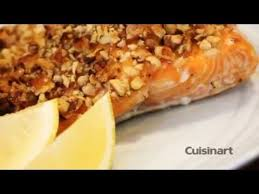 Cook Salmon In Toaster Oven Maple Walnut Salmon Using The Cuisinart Chef U0027s Convection Toaster