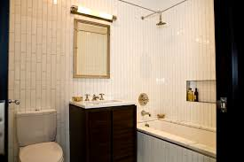 Grey Bathroom Design Tile Showers Subway Tile Bathroom Designs - Vertical subway tile backsplash