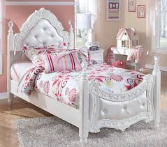 signature bedroom furniture signature design by ashley exquisite twin ornate poster bed with
