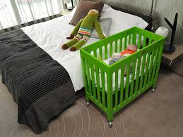 Alma Mini Crib Bloom Alma Mini Crib Frame Gala Green Bloom
