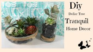 diy dollar tree tranquil home decor youtube