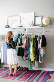 idee rangement vetement chambre petit dressing solutions pratiques de rangement ideeco