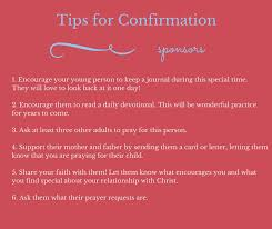 gifts for confirmation confirmation gifts tips for being a great confirmation sponsor