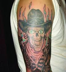 cowboy skull ideas and cowboy skull designs