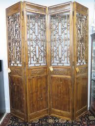 4 panel room divider vtg 8 5 u0027 tall 4 panel asian oriental screen head board room