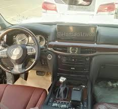 lexus lc interior new 2016 lexus lx photos reveal updated profile and interior