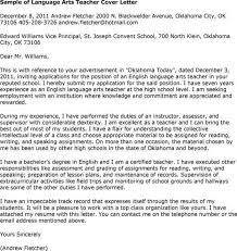 spanish teacher cover letter