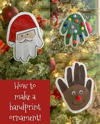 how to make a handprint ornament mod podge rocks