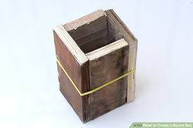How To Make A Wood Toy Box by 3 Ways To Create A Secret Box Wikihow