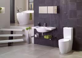 contemporary master bathroom with slate wall tiles u0026 concrete tile