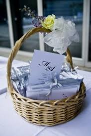Basket For Wedding Programs Bubble Basket For Lovebird Themed Wedding My Diy Projects