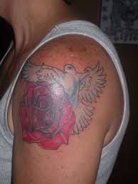 and dove tattoo