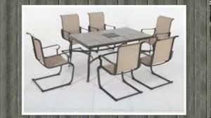 7 Piece Patio Dining Sets - home depot belleville 7 piece dining chair youtube