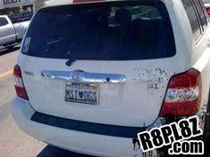 Popular Vanity Plates Ummm Pull Over Funny License Plates Pinterest License