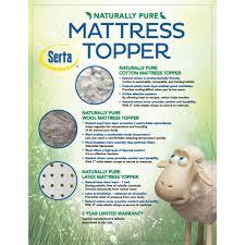 Ventilated Mattress Pad Serta Memory Foam Mattress Topper Warranty Mattress