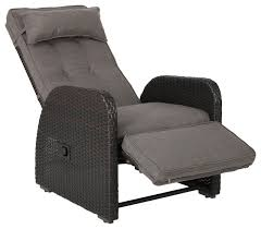 Rocking Recliner Garden Chair Odina Outdoor Recliner Contemporary Outdoor Lounge Chairs By