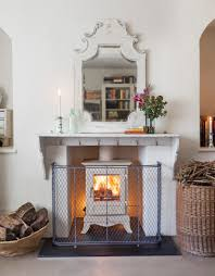 six stylish and safe ways to dress your fireplace the english home