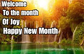 happy new month may wishes new month quotes for him or best