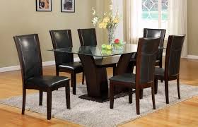 camelia 7 pc dining set black orange county ca daniel u0027s