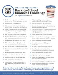 take the back to kindness challenge u2014 doing good together