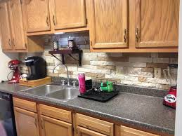 kitchen backsplash superb kitchen stone backsplash ideas