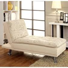 Modern Convertible Furniture by Furniture Of America Aubreth Modern Convertible Chaise Script