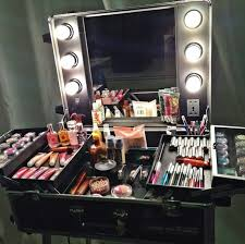 Professional Vanity Table Crafty Portable Makeup Vanity With Lights Table Lighted Mirror
