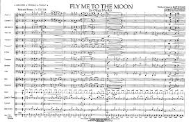 fly me to the moon by simmons j j w pepper sheet