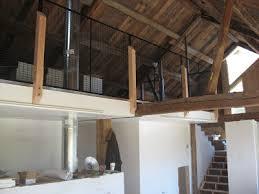 bare hill barn loft railing completed