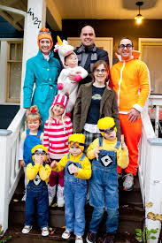 Minion Halloween Costume Girls 40 Cutest Family Halloween Costumes Halloween