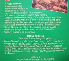 Barney Three Wishes Video On by Barney Three Wishes Vhs Video Ad 3179615 Addoway