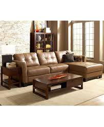 Living Room Furniture Sets With Chaise Furniture Leather Loveseats Lovely Martino Leather Sectional