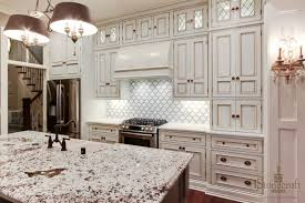 kitchen cabinet wallpaper that looks like tile backsplash shaker