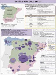 Ohio Winery Map by Spain Wine Regions Cheat Sheet Map By Clear Lake Wine Tasting