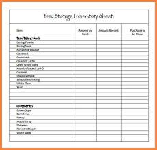 Kitchen Inventory Spreadsheet by 7 Restaurant Inventory Spreadsheet Xls Costs Spreadsheet