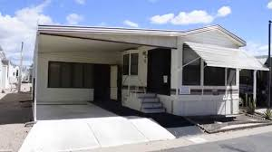 Park Model Travel Trailer Floor Plans Sold Ss1057aj 1990 Cavco Park Model With Arizona Room In