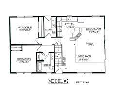 2 Bedroom Bath Open Floor Plans Home Design Ideas