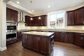dark wood kitchen cabinets dark cherry wood kitchen cabinets cherry kitchen cabinets with dark