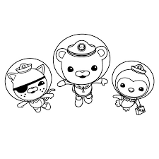 octonaut coloring pages octonauts coloring pages kwazii and captain barnacles coloringstar