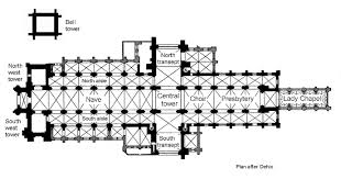file chichester cathedral plan jpg wikimedia commons